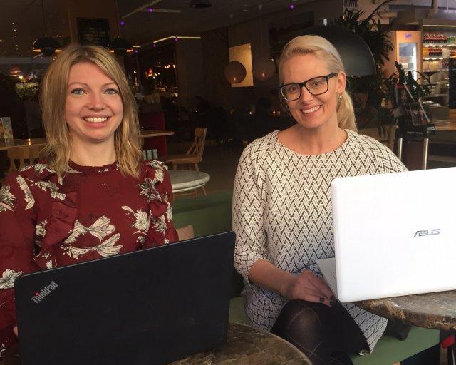 Rebecca Cannerfelt och Katarina Bäckström, VirMeda