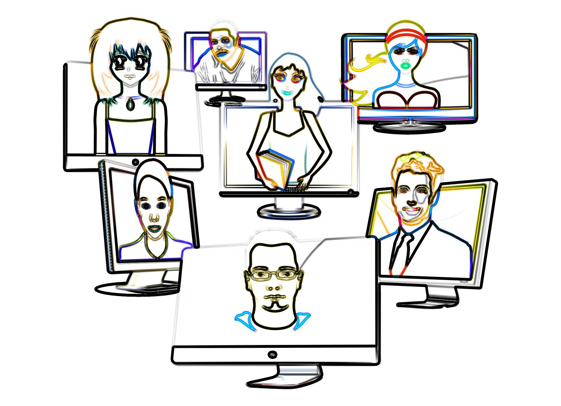 Virtuella medarbetare - personal online